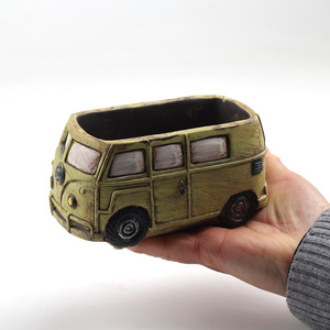 Image 4 - Cute Car Concrete Planter Mold Silicone Flowerpot Mould Handmade Cement Home Decoration Tool