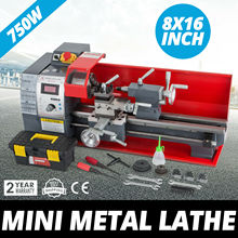 Mini Lathe Machine  8x16 Digital Milling Variable Speed