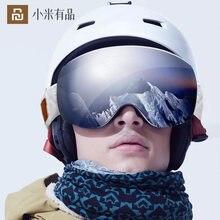Очки Лыжные youpin ts с двойными сферическими линзами магнитные