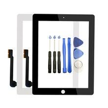 Для Apple iPad 4 A1458/A1459/A1460 сенсорный экран замена дигитайзер Сенсорная стеклянная панель Новый ЖК Внешний