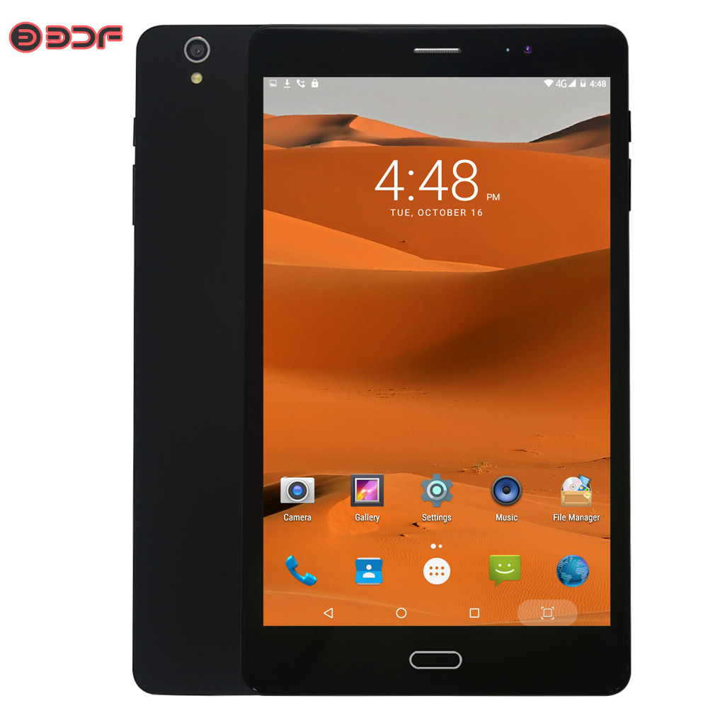New 8 Inch Tablets Pc Google Play 3G Call Phone Dual SIM Cards Dual Camera Android 6.0 Quad Core 1280*800 WiFi Bluetooth FM