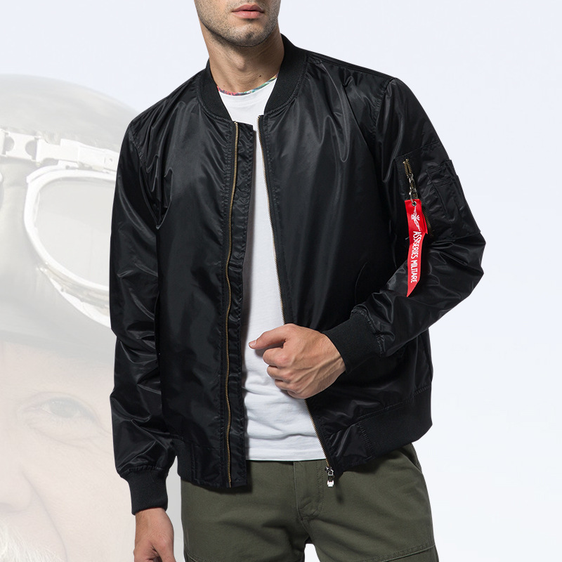 New Mens Casual Jacket Army Military Flight Pilot Bomber Jackets Mens Spring Autumn Outerwear Military Jacket Big Size 8xl JK103