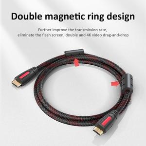 Image 5 - Przedłużacz HDMI do HDMI High Speed 2.0 pozłacane połączenie długi kabel przewód 1.5M 2M 3M 5M dla UHD FHD 3D Xbox PS3 PS4
