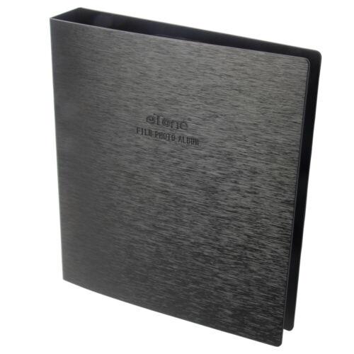 Папка на кольцах, фотоальбом для печати, файл 120 135 4x5, отрицательные страницы без кислот