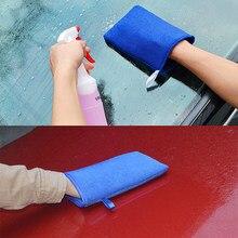 Leepee lã artificial carro-estilo argila mágica luvas de lavagem lavagem de carro absorção de água cuidados com o carro limpeza