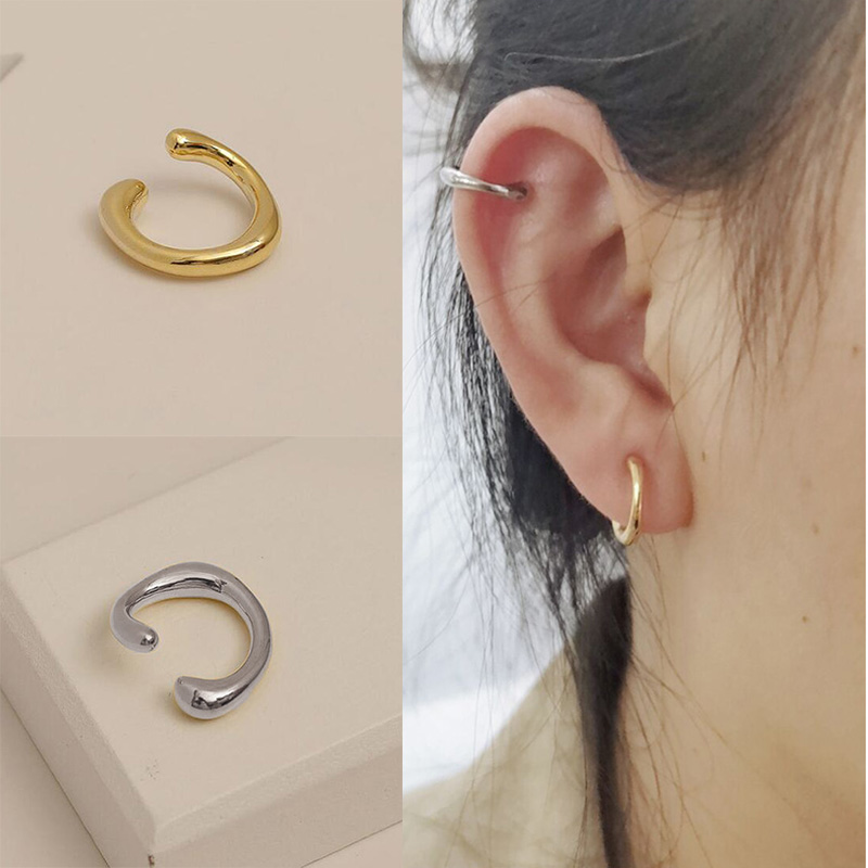 Fashion Cartilage Clip Set Simple No Pierced Ear Clip for Women Wedding Party Daily Jewelry Wholesale
