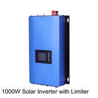 1000W on Grid Tie Inverter Solar Panels Battery Home Power PV System Sun 1000G2 DC 22 65V 45 90V AC 90V 130V 190V 260V WI FI