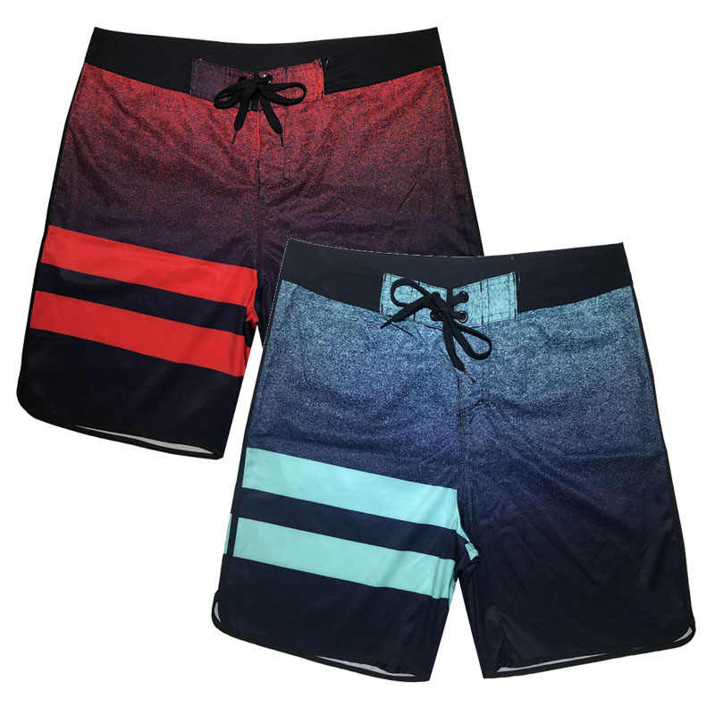 Plus Size Swim Shorts Men Beach Pants Quick Dry Summer Board Bathing Surf Swimwear Beach Short Running Trunks Bermuda Beachwear