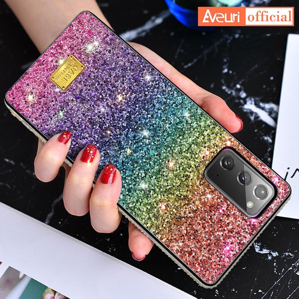 Luxury Cute Phone Case For Samsung Galaxy S21 Ultra S10 S20 FE Note 20 Ultra 10 Plus A50 A70 A51 A71 M21 M30S A41 A31 Cover Case