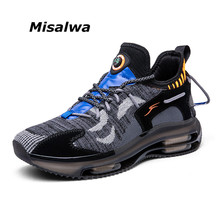 Cushion Trainer Sneakers Outdoor Men Men's Casual Stylish Misalwa Light Breathable Lace-Up
