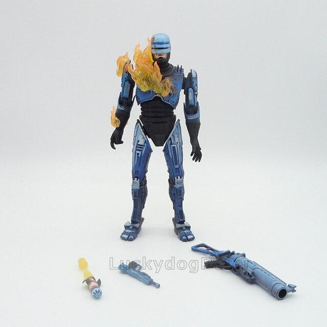 אנימה 1/8 סולם צבוע קרב פגום גרסה רובוקופ רקטות משגר פעולה איור רובוקופ להביור PVC איור צעצועים