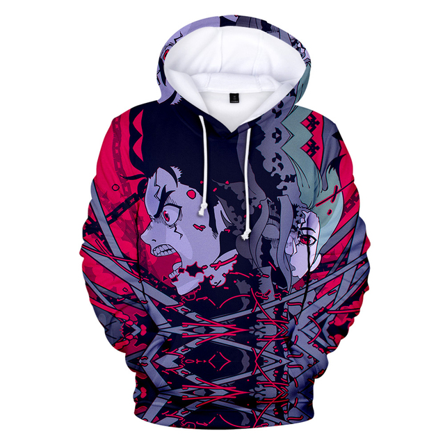3D DR STONE THEMED HOODIE