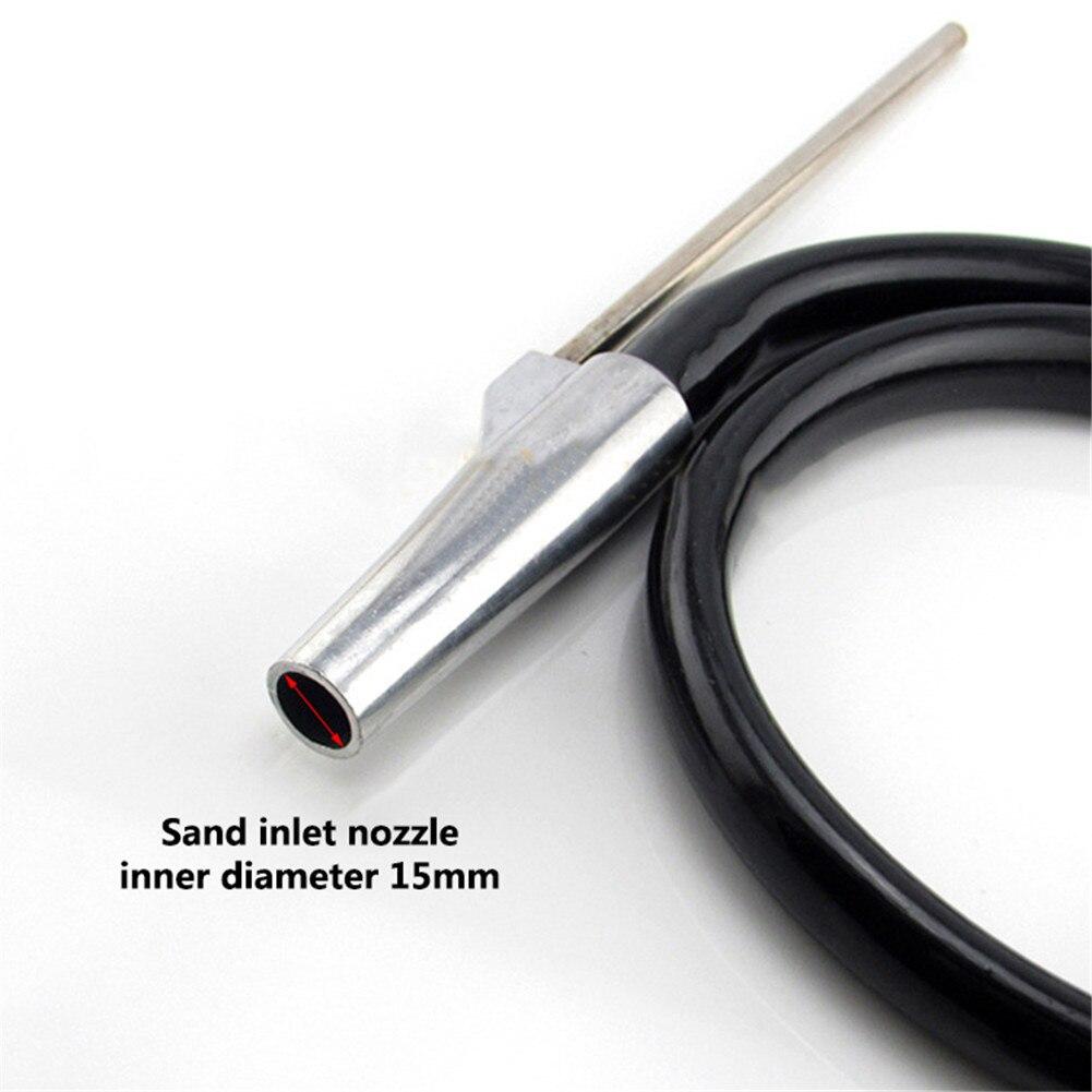 Tools : Portable Air Sandblaster Large Nozzle Anti-rust Abrasive Handheld Pneumatic Sand Blasting Machine Kit for glass blasting