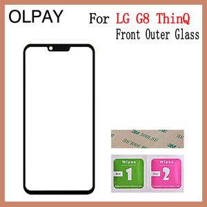 """Image 3 - 6.1"""" inch For LG G8 ThinQ G820N G820QM G820V G820UM Touch Screen Front Outer Glass Panel Replacement"""