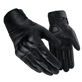 locomotive gloves leather motorcycle gloves warm retro ride men harley waterproof leather gloves cold resistant Motorcycle Protective Gears Motocross Gloves Retro Winter Warm Perforated Real Leather Motorcycle Gloves Moto Windproof Gloves