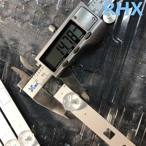 """Image 4 - 10 أجزاء/وحدة LED شريط إضاءة خلفي 5 مصباح ل 40 """"التلفزيون KDL 40W605B NS4S400DND01 A1989957A KDL 40R485A 5 قطعة A + 5 قطعة B 100% جديد"""