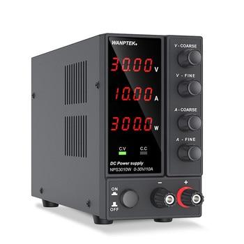 Wanptek Adjustable DC Laboratory 30V 10A Lab Power Supply Adjustable 60V 5A Voltage Regulator Stabilizer Switching Power Supply 2
