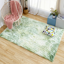 Carpet Tie Dyeing Plush Soft Carpets Anti-Slip For Living Room Bedroom Floor Mats Washable Personality Blanket Living Eoom Rug