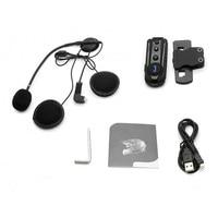Useful For Motorcycle Waterproof Interphone Easy Install Portable Headset Head Mounted Bluetooth Noise Reduction FM Radio Helmet