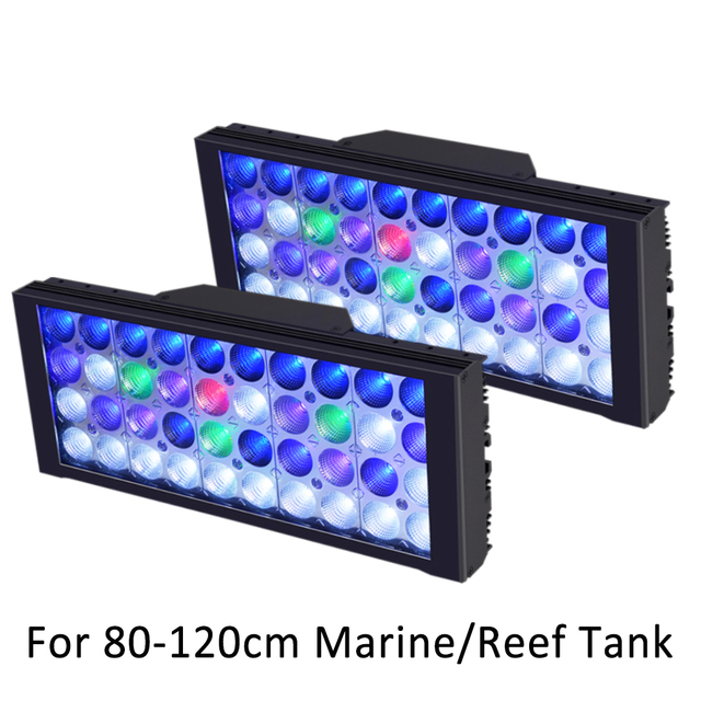 Aquarium LED Lighting For Reef Tank Full Spectrum UV Aquarium Lamp Dimmable Programmable LED Coral Marine