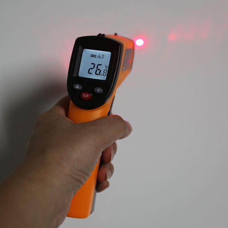 Digitale GM320 Infrarood Thermometer Non Contact Infrarood Thermometer Pyrometer Ir Laser Temperatuur Meter Gun -50 ~ 380 Graden Nieuwe 1