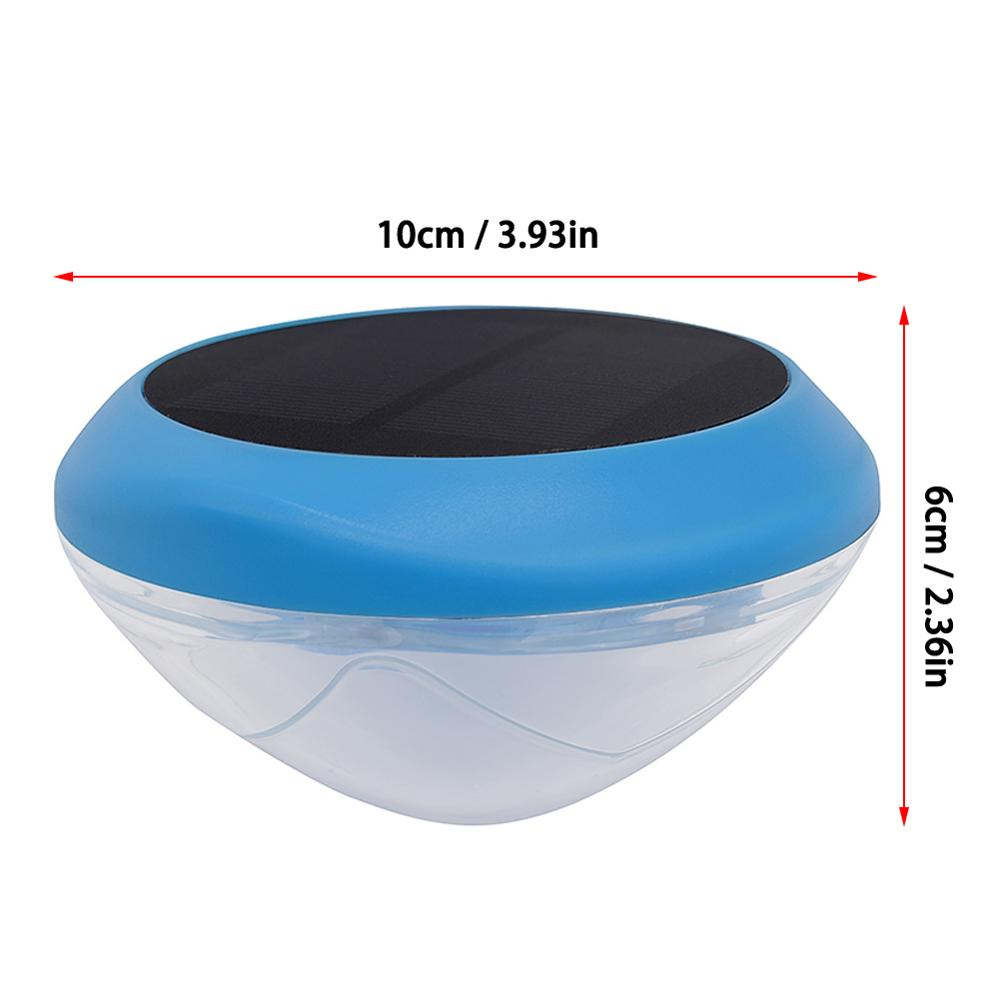 Купить с кэшбэком Solar Pool Light Floating Underwater Light RGB LED party Light Glow  Hot Tub Spa Lamp Light For swimming pool Accessories