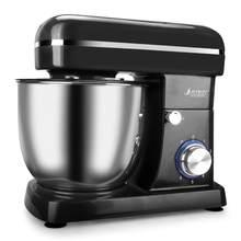 5L 1500W paslanmaz çelik kase 6-speed mutfak gıda tezgah mikseri krem yumurta çırpma Blender kek hamur ekmek mikser Maker makinesi