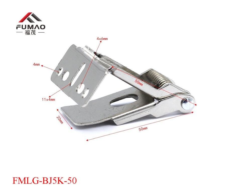 Купить с кэшбэком Manufacture 55mm length flat metal spring clips for LED downlight