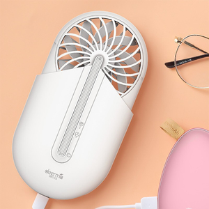 Image 1 - Deerma Ventilador portátil de mano con aromaterapia, Ventilador Ultra silencioso portátil para verano