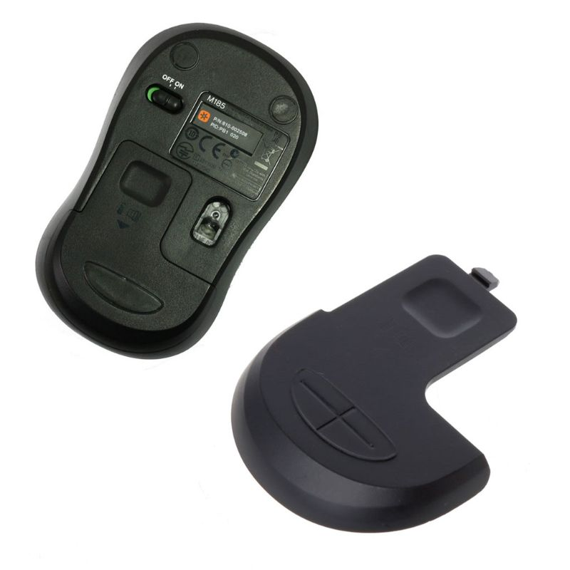 New Battery Case Cover Mouse Case Shell For Logitech M185 M186 B175 M220 Genuine Mouse Accessories QX2B