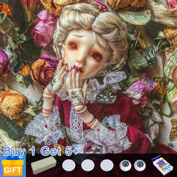 Shuga Fairy Eugenie Doll BJD movable joint 1/4 Girl Body professional makeup Toys for Girls High Fashion Dolls