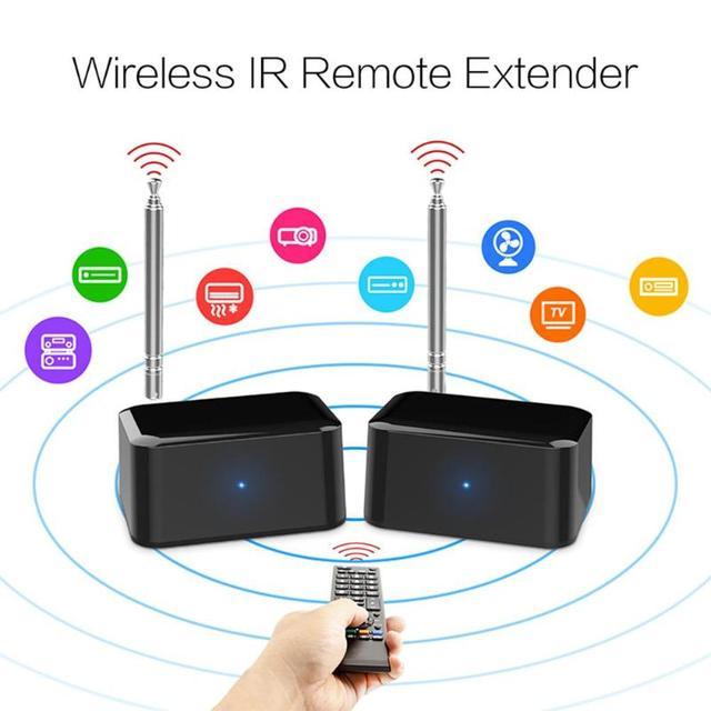 433MHz sans fil télécommande IR ultra fort Extender répéteur maison TV émetteur récepteur Blaster émetteur pour DVD DVR IPTV