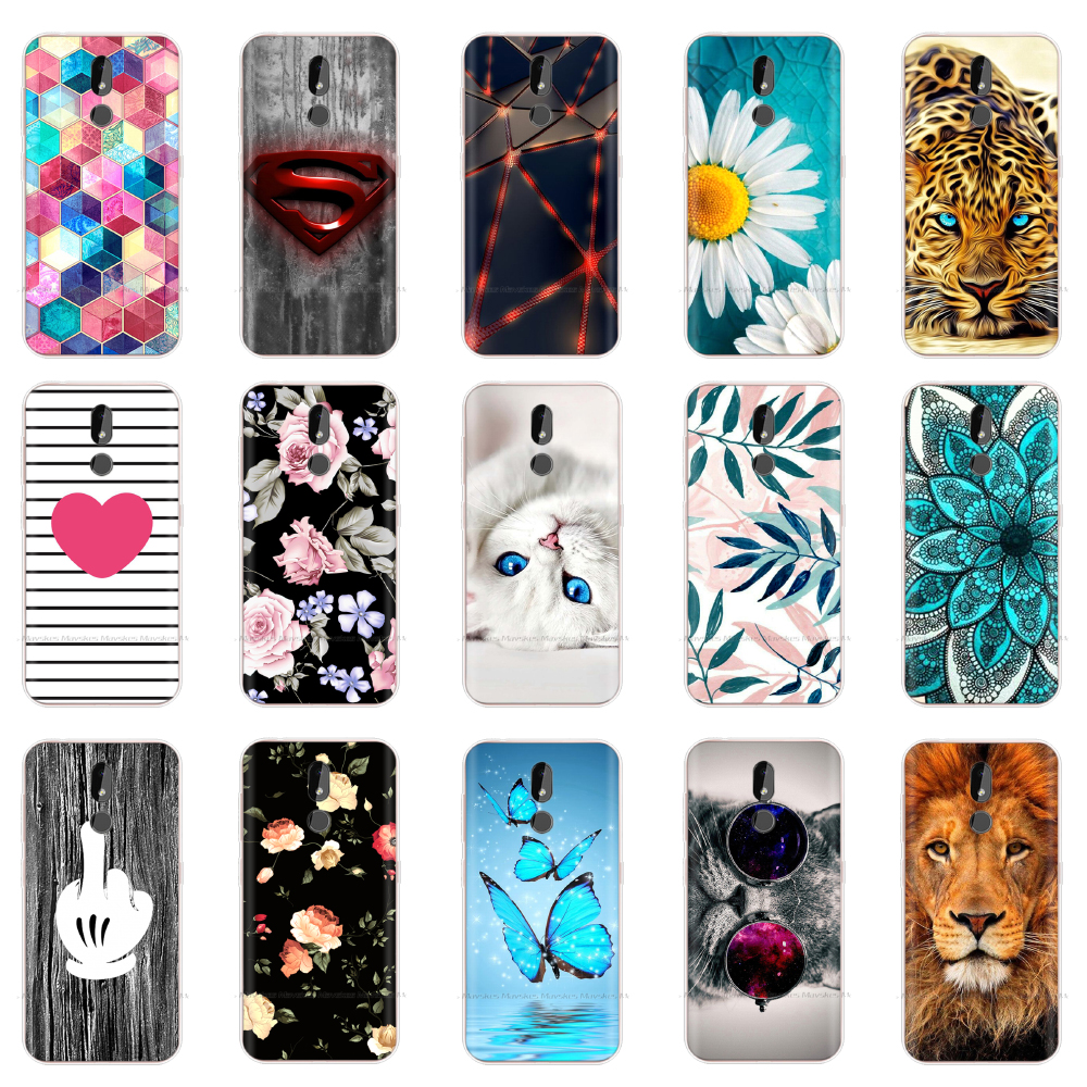 For <font><b>Nokia</b></font> <font><b>3.2</b></font> Case <font><b>2019</b></font> Fashion Silicon Soft TPU Back Cover Coque for <font><b>Nokia</b></font> <font><b>3.2</b></font> TA-1154 TA-1156 TA-1159 TA-1164 Phone Case Funda image