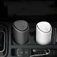 Автомобильное ведро для мусора Силиконовые Мини мусорное автомобиля