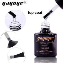 Yayoge 10 мл здоровое верхнее покрытие для праймер для ногтей Дизайн ногтя маникюрные гель лак для ногтей праймер для ногтей под Гель-лак