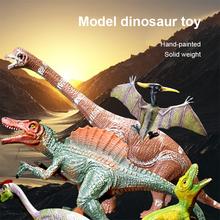 3D Model zwierzęcia zabawki symulacja duży dinozaur skamieliny tyranozaur złożyć Model szkieletu zabawki szwy zabawki zabawka dla dzieci tanie tanio CN (pochodzenie) Unisex 8 lat Wyroby gotowe Animals Z tworzywa sztucznego