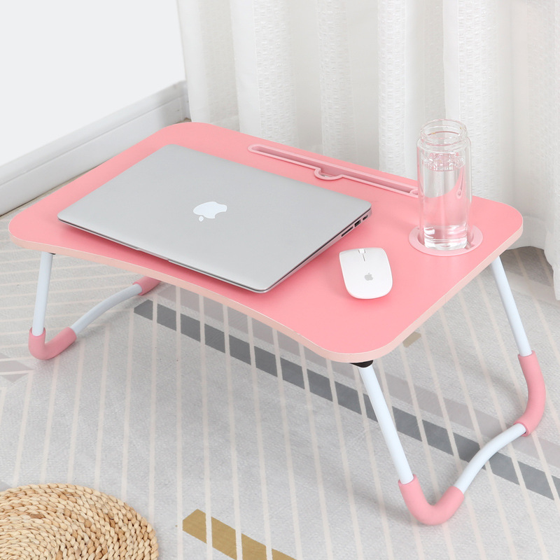 Laptop Table Lazy Students Dormitory Foldable Bed Desk Dormitory Simple Learning Small Table Do Table