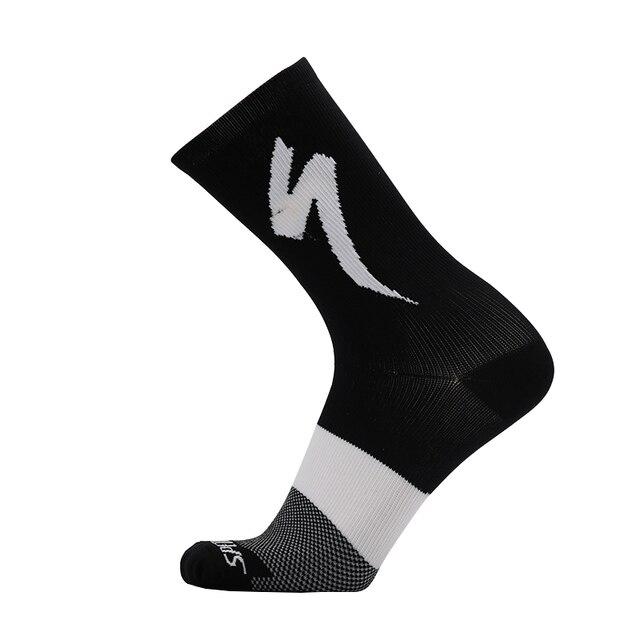 Nova bicicleta equitação meias para homem e mulher modelos de esportes ao ar livre correndo desodorante resistente ao desgaste meias de bicicleta 2