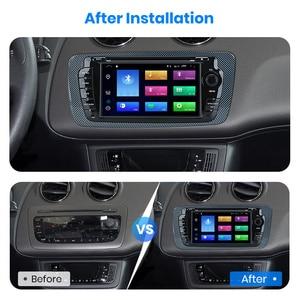 Image 4 - (код черной пятницы: BFRIDAY1000 12000₽ 1000₽) Junsun 2 din Автомобильный Радио dvd плеер для Seat Ibiza 2009 2010 2011 2012 2013 Android 9,0 GPS навигация 2 ГБ + 32 Гб опционально