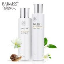 BAIMISS Snail Serum Repair Lotion Toner Face Care Acne Treatment Remover Blackhe