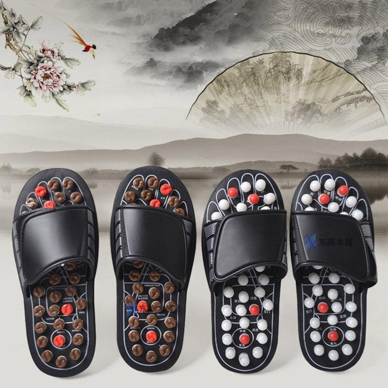 Wholesale Acu-Point Slippers Accupressure Massage Foot Massager Flip Flop Sandals For Women Men OH66