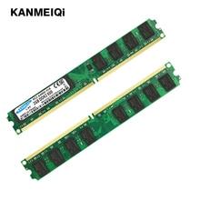 цены на KANMEIQi ddr2 ram 2GB 800MHz Desktop Dimm 4gb(2pcsX2GB) 533/667MHz Memory 240pin 1.8V New PC2-6400-CL6  в интернет-магазинах