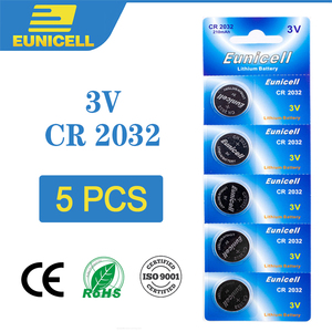5pcs Lithium Cell Coin Battery 3V CR2032 CR 2032 Button Batteries BR2032 DL2032 ECR2032 5004LC L2032 For Watch Toys Remote Scale(China)