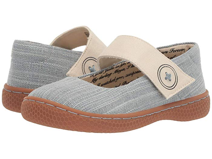 Livie & Luca Adorable Flax Canvas Little Girl And Todders Children's Shoes