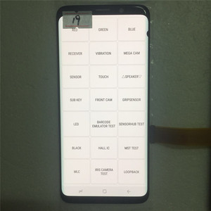 Image 5 - Original AMOLED Display For SAMSUNG Galaxy S9 LCD G960 G960F Display Touch Screen Replacement Parts