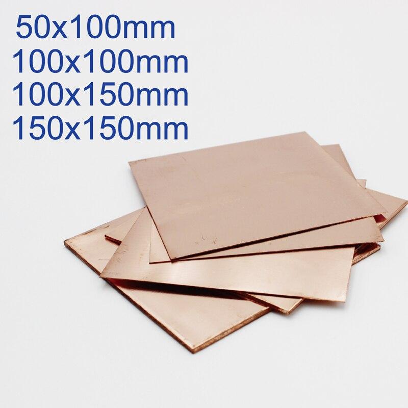 0.1mm 0.15mm 0.2mm 0.3mm 0.4mm 0.5mm 0.8mm 1mm 1.5mm 2mm 3mm 4mm 5mm 6mm Copper Sheet Plate