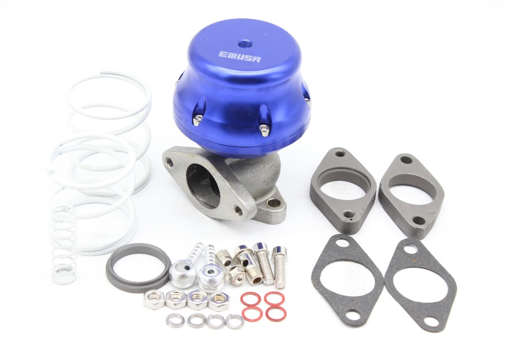 EMUSA 38mm External Wastegate 2 Bolt Installed by 7 PSI comes with 4//9//10 Three Springs.