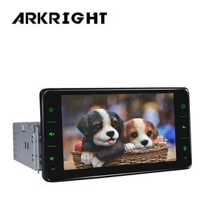 "Image 2 - 1 Din DSP 2GB/32GB 6.2"" Universal Car Head Unit Octa Core Bluetooth Wifi GPS Navi SWC Andriod Car Radio Stereo Multimedia Player"