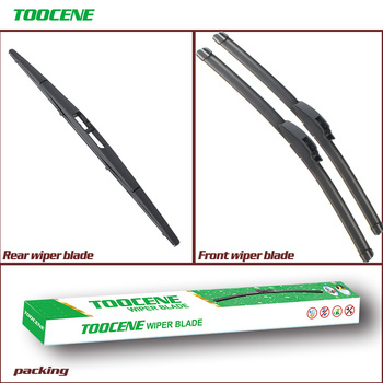 Front and Rear Wiper Blades For Acura TSX 2004-2008. windshield Windscreen Wipers Car Accessories 26+16+12 image