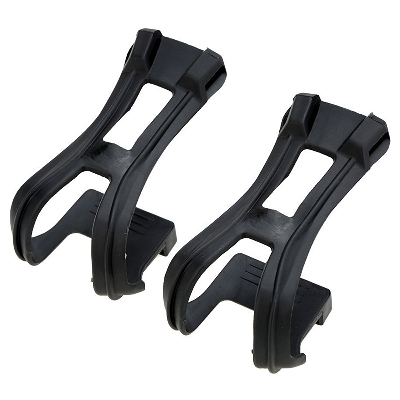 MTB Road Bike Fixed Gear Cycling Bicycle Strapless Toe Clips